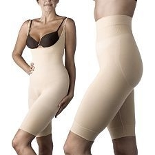 3acd6ed43db40 Slim N Lift Seamless Bodysuit   Shorts Set - Nude