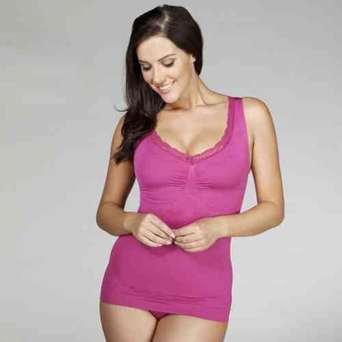 313740fcd8e18 New Your Secret Shapewear Camisole - Love   Lace detail - Plum